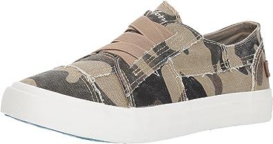 BLOWFISH MALIBU KIDS MARLEY Sneakers Dark Gray Slip On Distressed Comfort Shoes