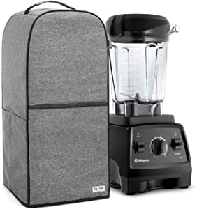Luxja Blender Cover Compatible with Vitamix 64 oz. Low-Profile Blender, Gray