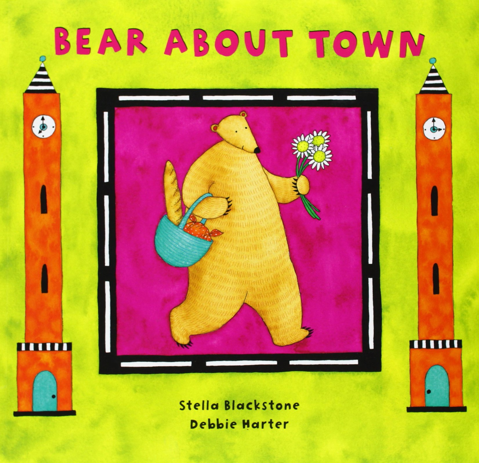 Bear About Town (bear Book S): Stella Blackstone, Null, Debbie Harter:  9781846860270: Amazon: Books