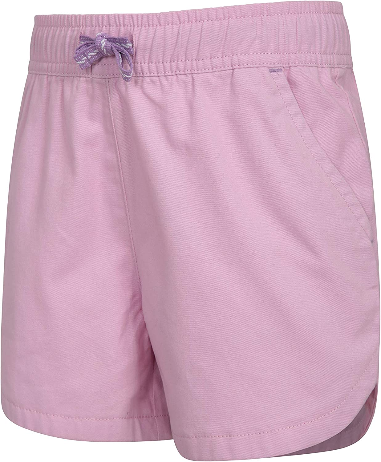 Cotton Kids Shorts Summer Hot Pants Mountain Warehouse Waterfall Girls Shorts Easy Care Short Pants Ideal Casual Clothes When Travelling Breathable Holiday Shorts