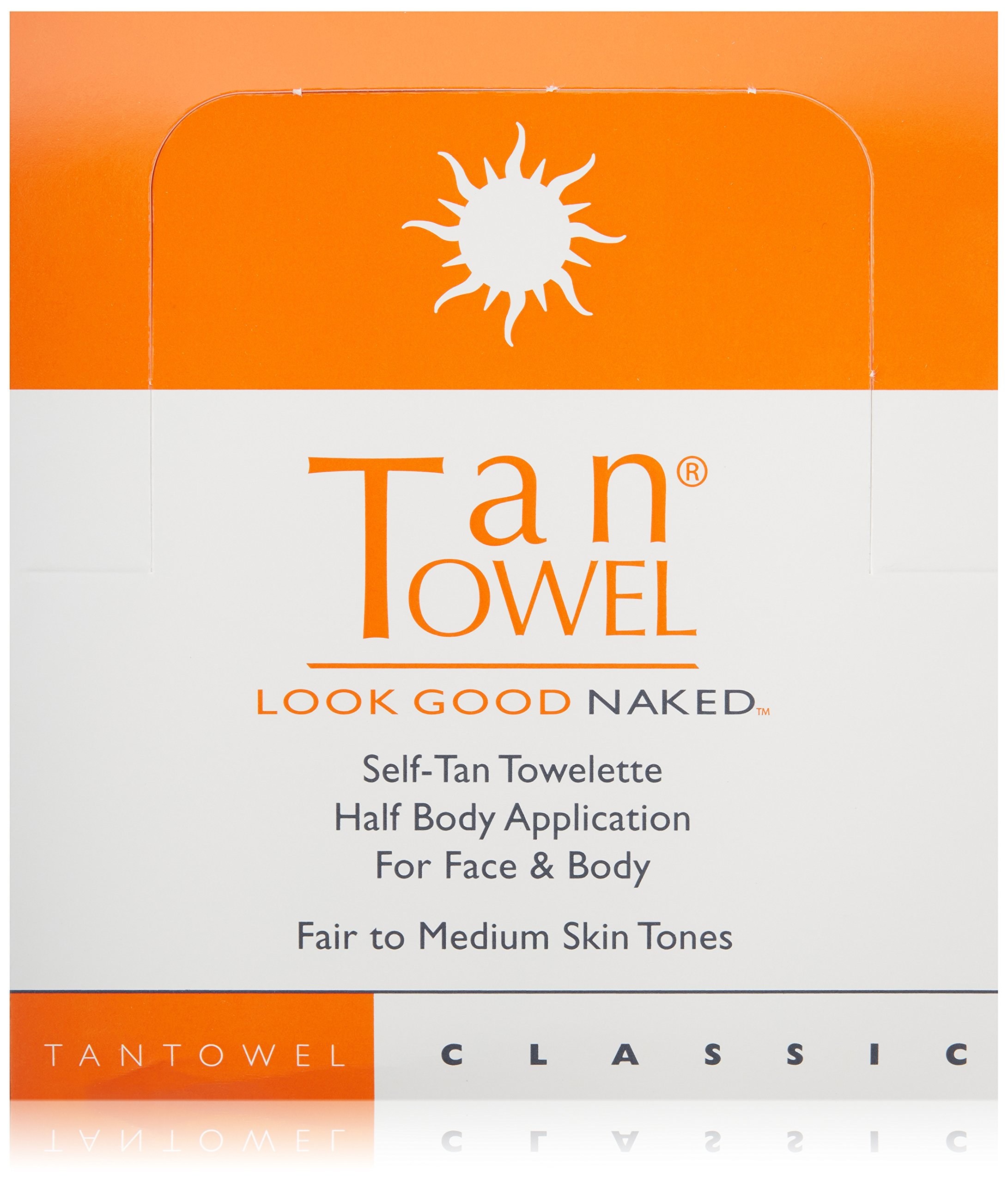 Tan Towel Self Tan Towelette Classic  50 Count by Tan Towel (Image #1)