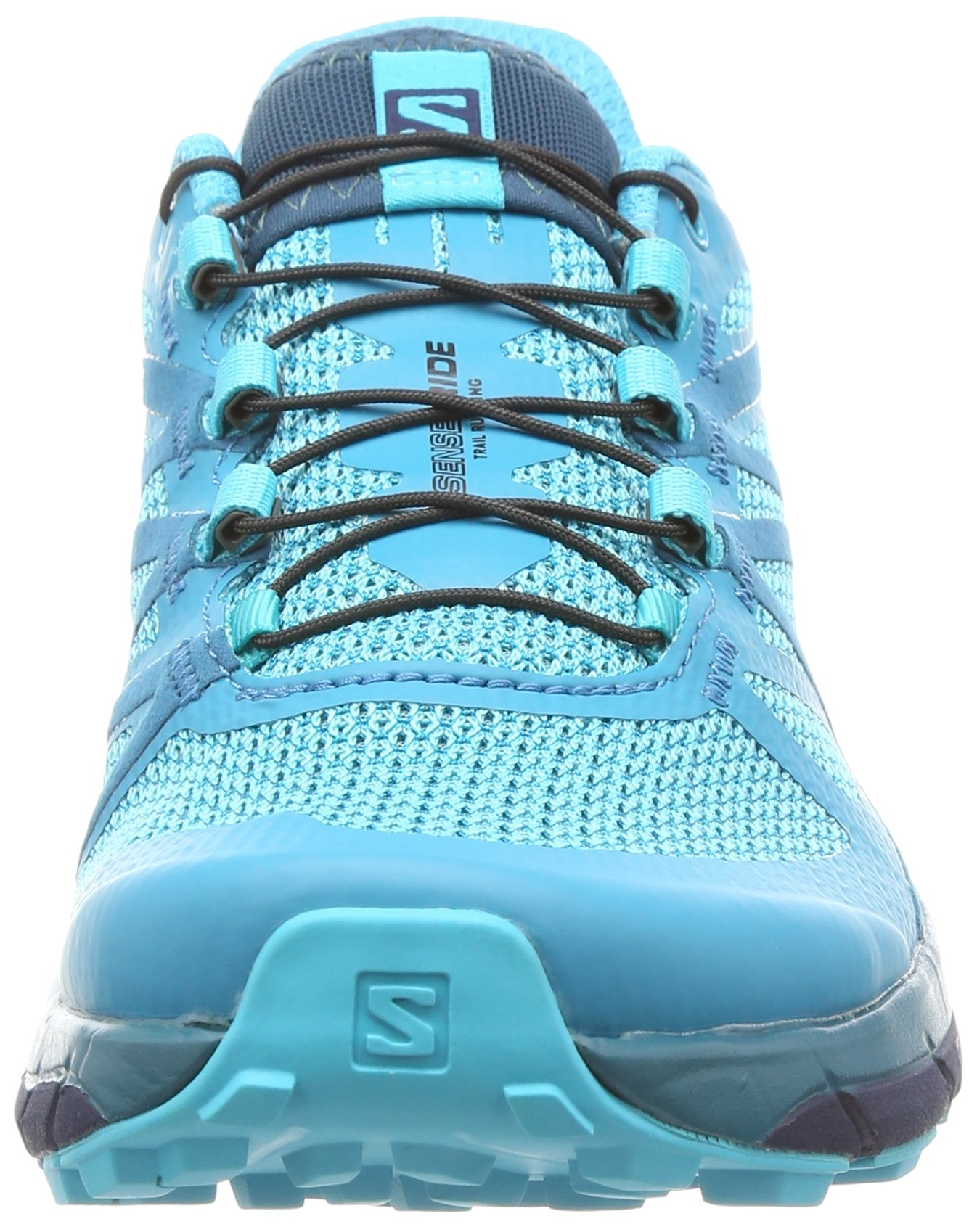 Salomon Sense Ride Running Shoe - Women's Blue Bird/Deep Lagoon/Navy Blazer 7 by Salomon (Image #4)