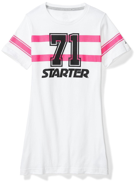 Starter Girls' Football Jersey Tunic T-Shirt Dress,  Exclusive S17FGD01
