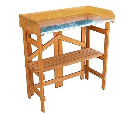 Amazon.com: Merry Utilidad de jardín plegable mesa y banco ...