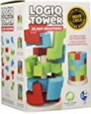 Great Circle Works Logiq Tower Puzzle, Educational and Creative 3D Wooden Puzzle Game for Kids, 22,069 Solutions