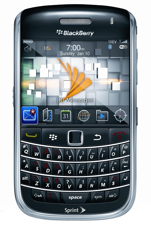 amazon com blackberry bold 9650 phone black sprint cell phones rh amazon com Sprint BlackBerry Updates Sprint BlackBerry 9330