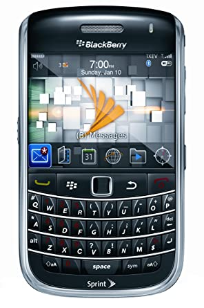 amazon com blackberry bold 9650 phone black sprint cell phones rh amazon com blackberry bold 9700 user manual blackberry bold user manual