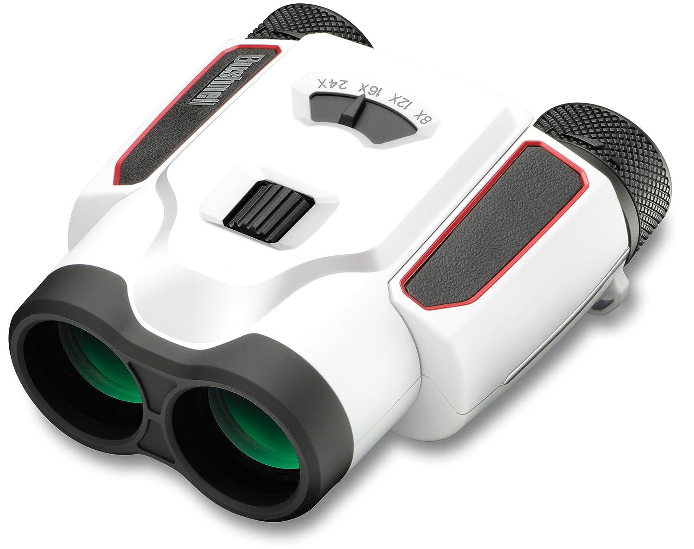 Bushnell Spectatorスポーツズーム8 – 24 x 25 mm双眼鏡 B00T9N3ZQ0  ホワイト