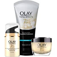 Olay Total Effects Day to Night Anti-Aging Skincare Kit with Cleanser SPF & Night Cream