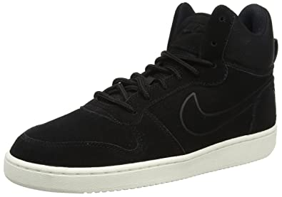 huge discount 136f7 1ce09 Nike Court Borough Mid Premium, Baskets Homme: Amazon.fr: Chaussures ...