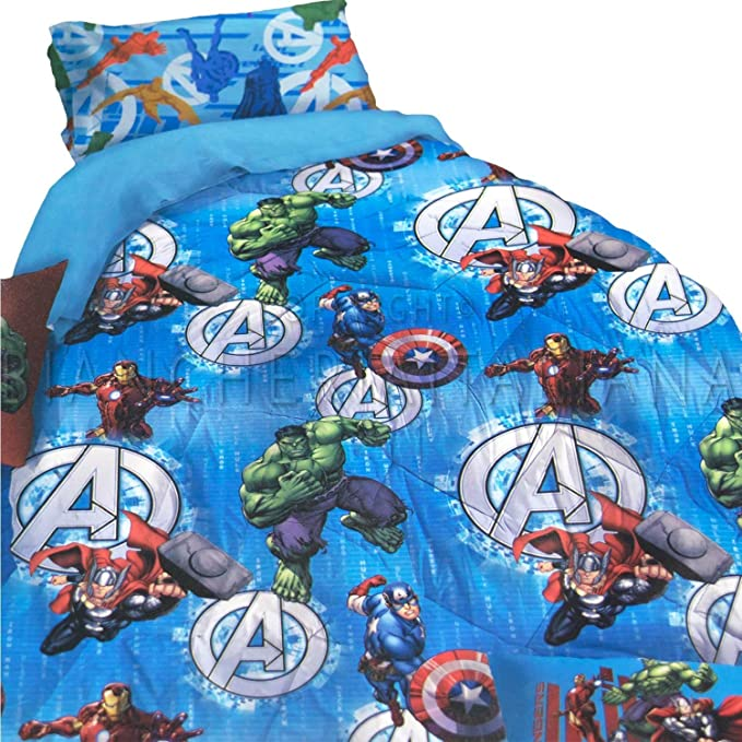 Novia Colcha Individual Avengers: Amazon.es: Hogar