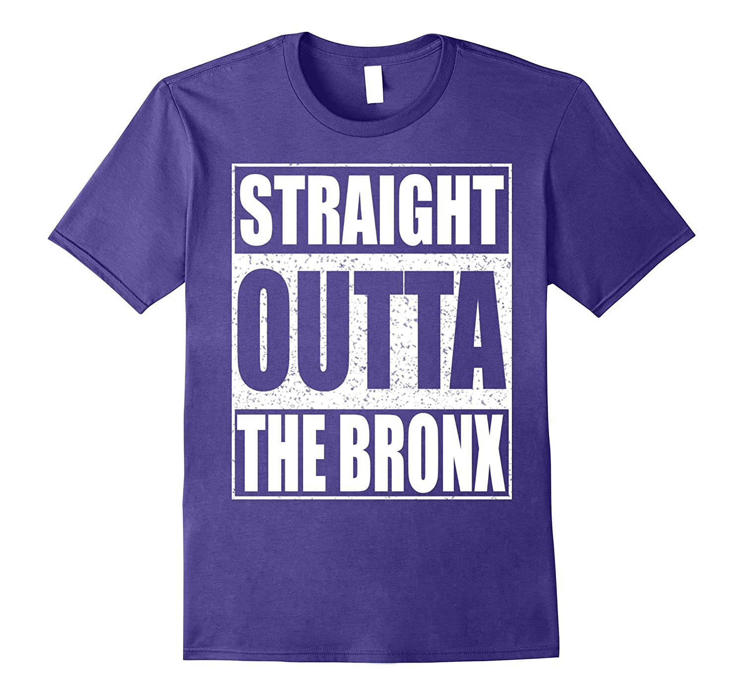 Straight Outta The Bronx T-Shirt Borough of New York City-FL