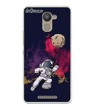 dakanna Funda para BQ Aquaris U Plus | Astronauta y Luna ...