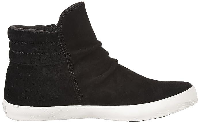 Keds Midtown Zip Boot Suede Wx - Sneakers para Hombre, Color Negro, Talla 5,5