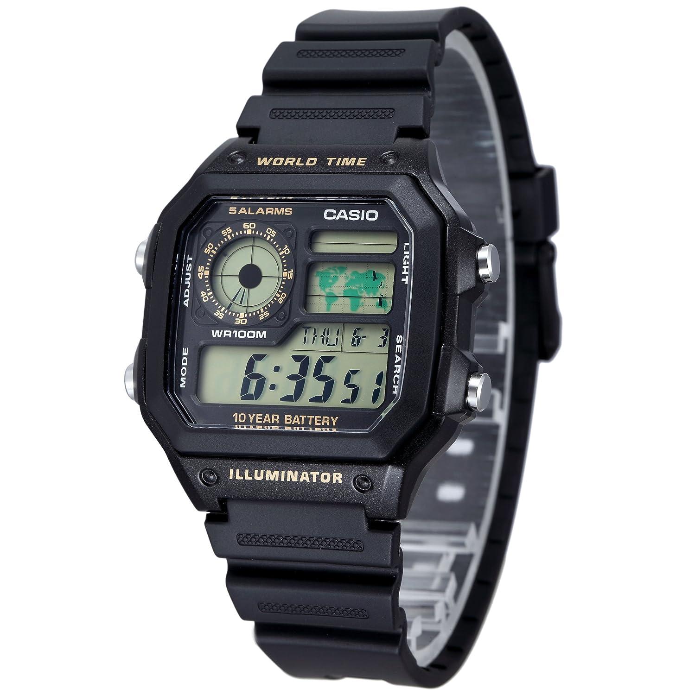 カシオスタンダード デジタル腕時計 メンズ