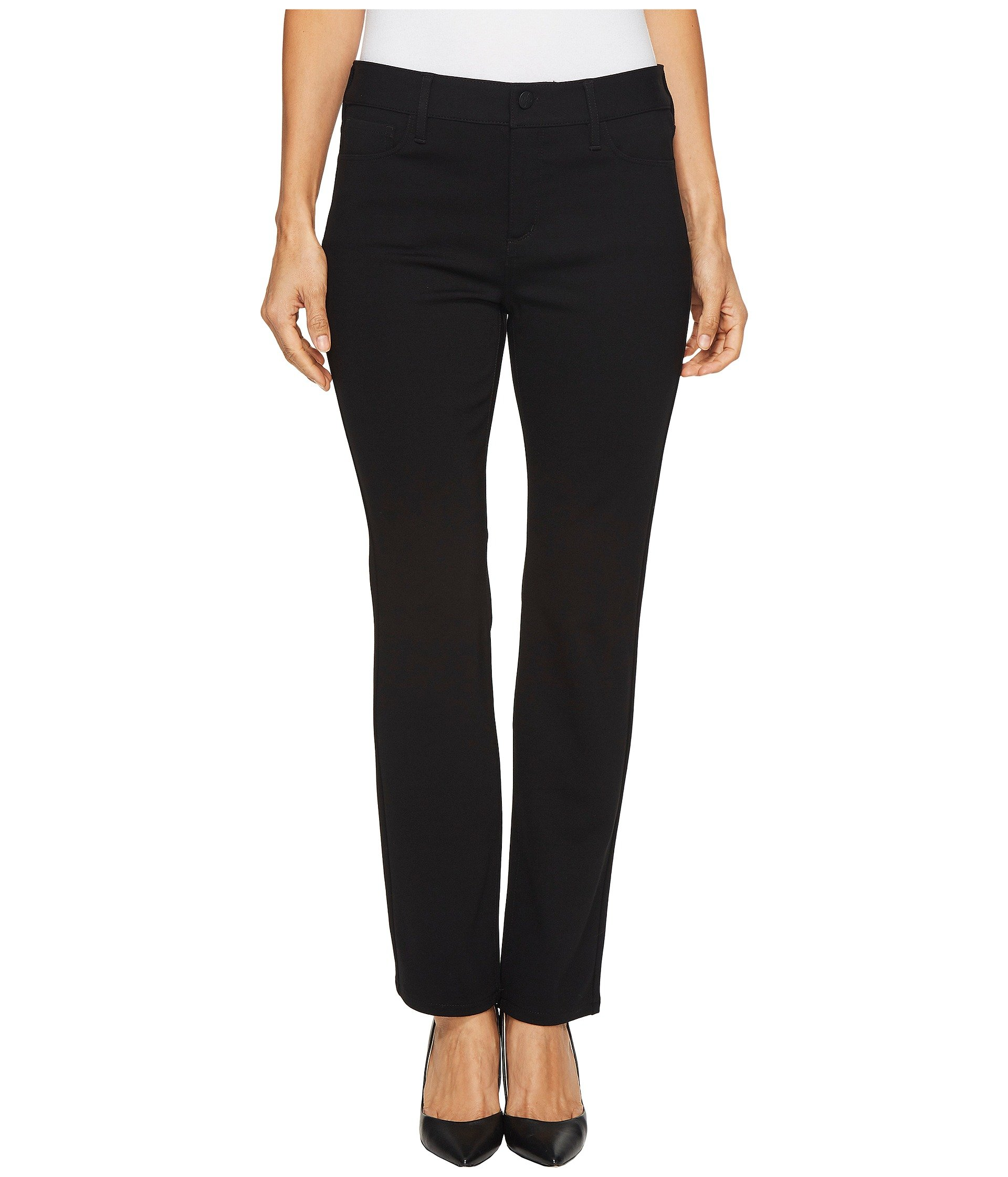 NYDJ Women's Petite Size Sheri Slim Jean, Black, 2P