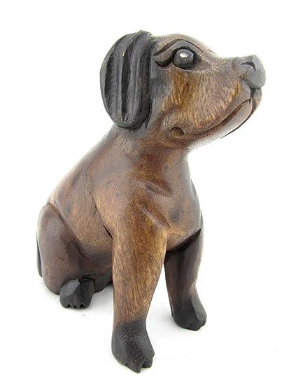 Image result for brown dog figurine