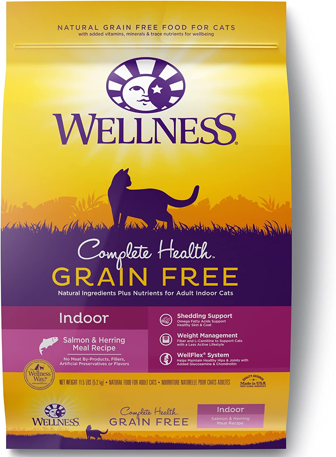 4. Wellness Complete Dry Cat Food