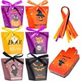 Halloween Candy Bags Treat Bags, 30 Packs Halloween Paper Party Bags for Treat or Trick & Party Supplies, Halloween…