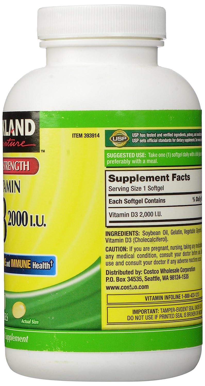 vitamins Kirkland signature