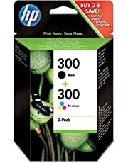 HP 300 2-pack Black/Tri-color Original Ink Cartridges (CN637EE)