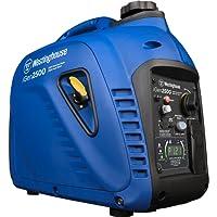 Westinghouse iGen2500 Portable Inverter Generator, 2200 Rated Watts & 2500 Peak Watts