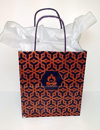Amazon.com: Lot 5 Authentic teavana té de papel regalo ...