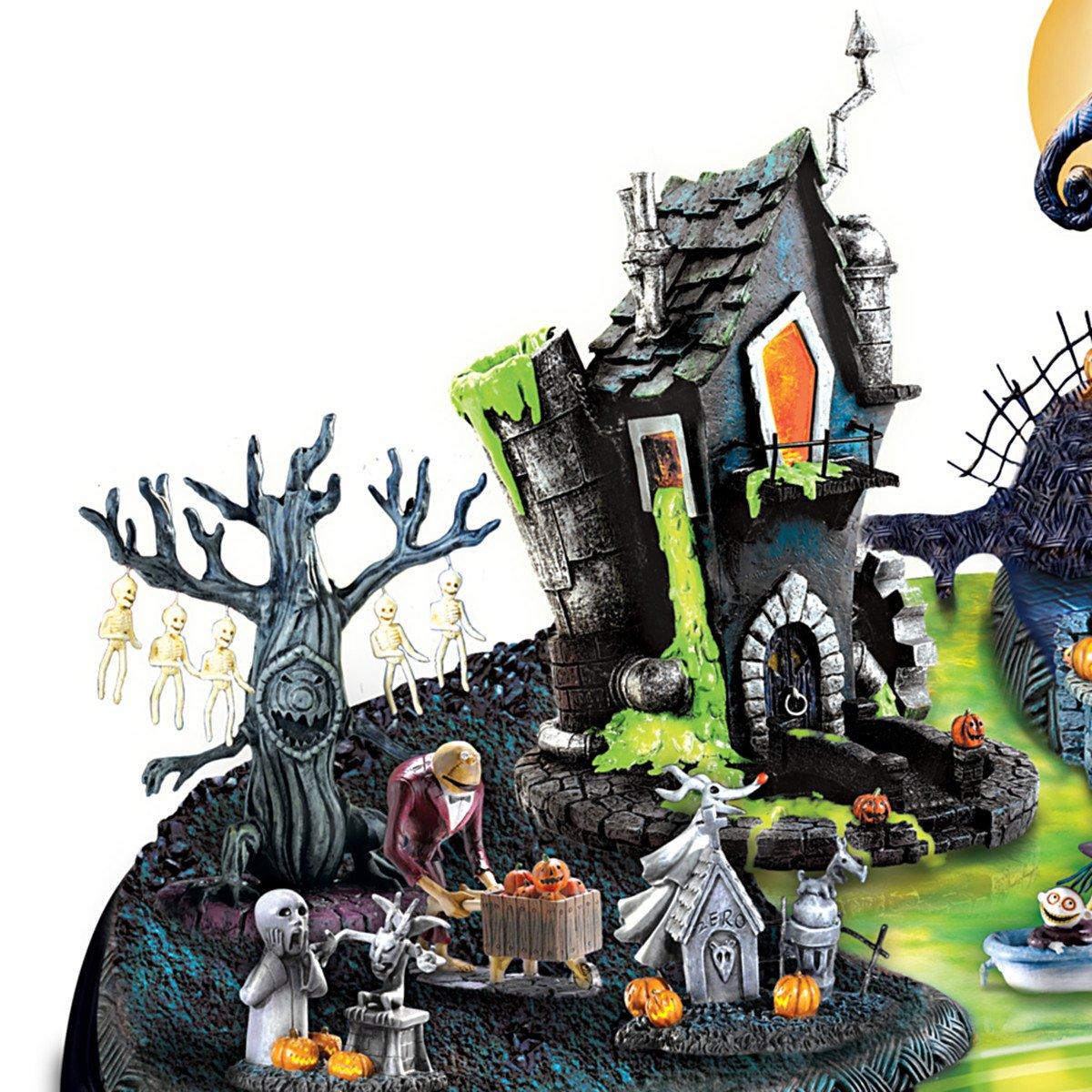 Amazon.com: Hawthorne Village Nightmare Before Christmas Halloween ...