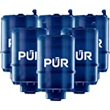 PUR MineralClear Faucet Water Filter Replacement for Filtration Systems, 6 Pack, 6 Count