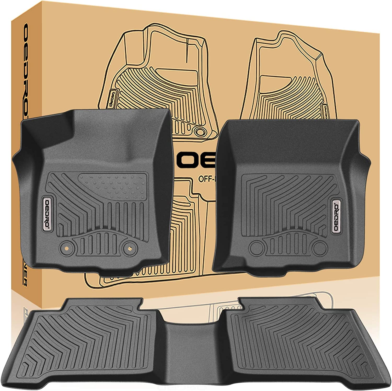 2006 GGBAILEY D4492A-S2B-BLK/_BR Custom Fit Car Mats for 2005 Passenger /& Rear Floor 2007 2008 Chevrolet Uplander Black with Red Edging Driver