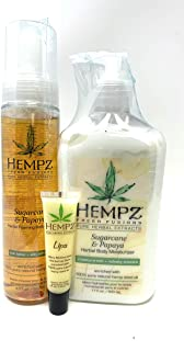 product image for Hempz SUGARCANE & PAPAYA GIFT SET - 3 pc