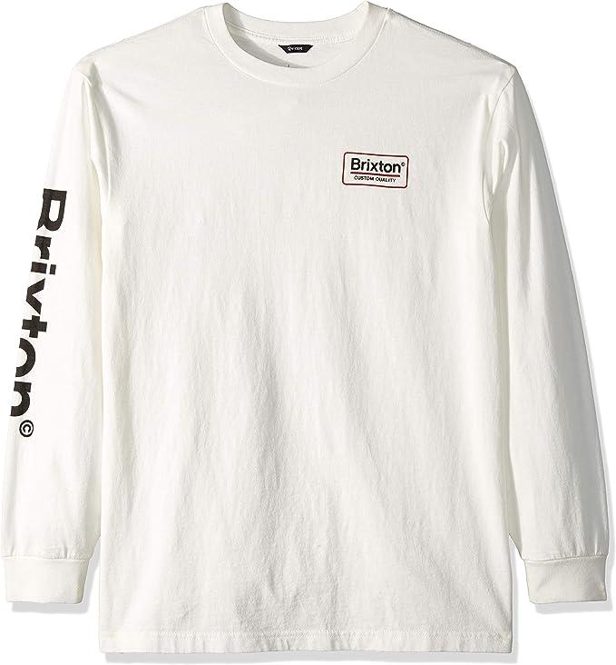 Brixton Hombre Manga Larga Camiseta: Amazon.es: Ropa y accesorios
