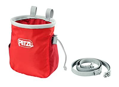 PETZL Saka Chalk Bag Coral One Size