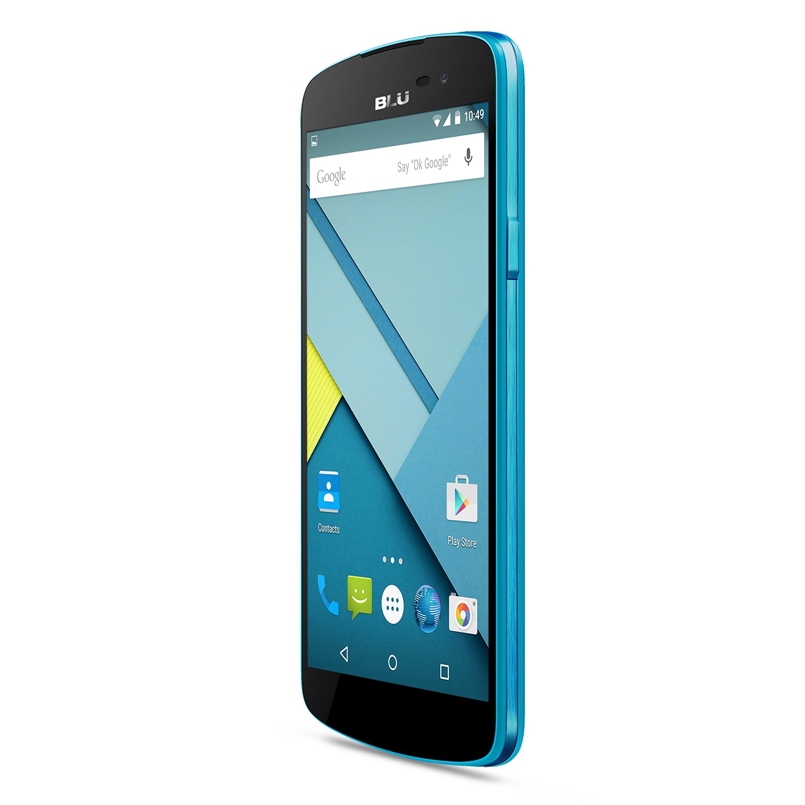 BLU Studio X - US GSM - Unlocked Cell Phone (Blue)