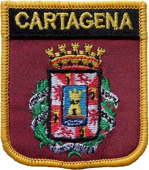 1000 Banderas Cartagena España Escudo Bordado Parche Insignia: Amazon.es: Hogar