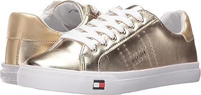 5418c0a2 Tommy Hilfiger Women's Luster Gold Shoe: Amazon.co.uk: Shoes & Bags