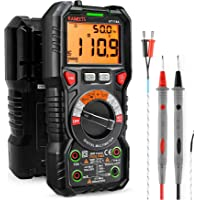 KAIWEETS Digitale multimeter met LED-bus, CAT III 1000 V, CAT IV 600 V True RMS Auto-RMS 6000 teller, meet spanning…