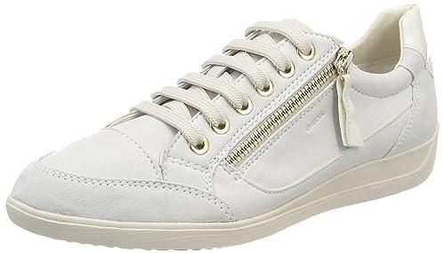 Geox D Myria A, Zapatillas para Mujer: Amazon.es: Zapatos y
