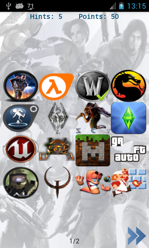 Extrêmement Amazon.com: Games Logo Quiz: Appstore for Android LG83
