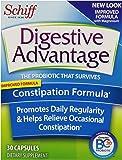 Digestive Advantage Probiotics -Constipation Formula Probiotic Capsules, Survives 10x better than yogurt and leading probiotic, 30 Count