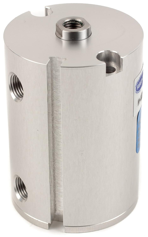 Fabco-Air H-121-X-E Original Pancake Cylinder, Double Acting, Maximum Pressure of 250 PSI, Switch Ready with Magnet, 1-1/8' Bore Diameter x 1-3/4' Stroke 1-1/8 Bore Diameter x 1-3/4 Stroke FAB   H-121-X-E