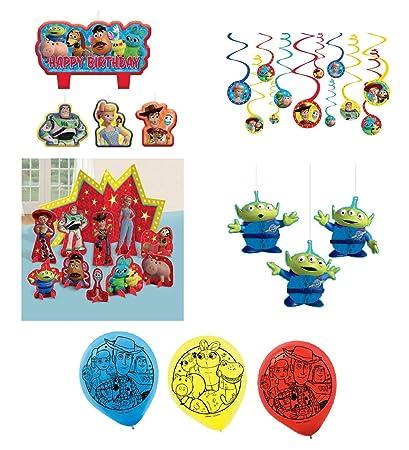 Amazon.com: Amscan Woody y Buzz Toy Story 4 cumpleaños ...