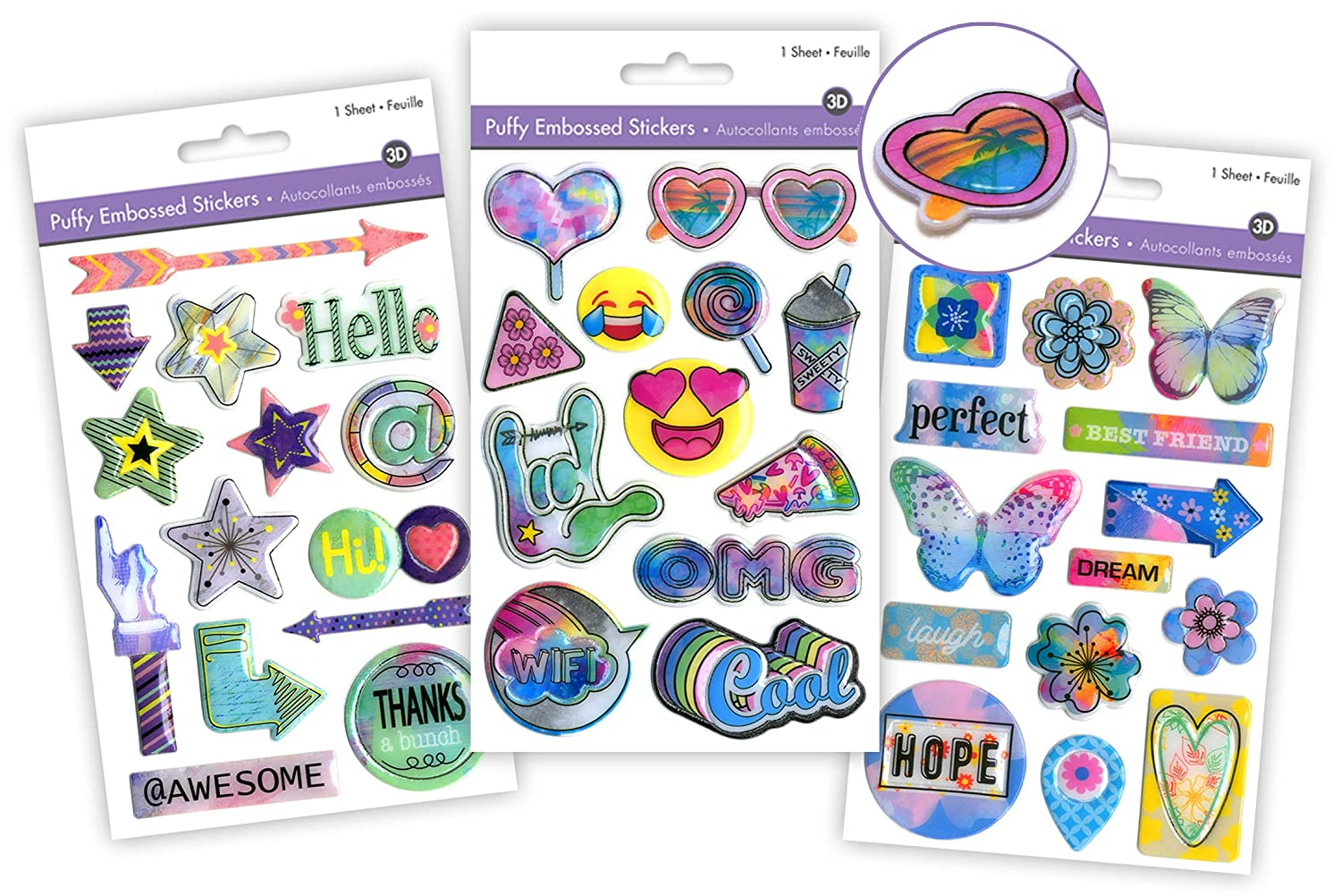 Friends Stickers for Kids Photo Album Scrapbook Kit for Girls Friends Girly Gifts Young Teen Girl Gifts Kids Scrapbook Accessories Scrapbook for Girls Scrapbook for Kids Best Friend Scrapbook 3 Pk