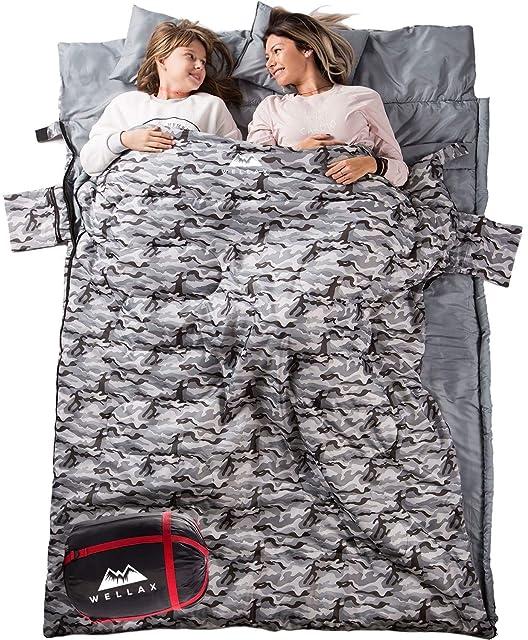 WELLAX Double Sleeping Bag