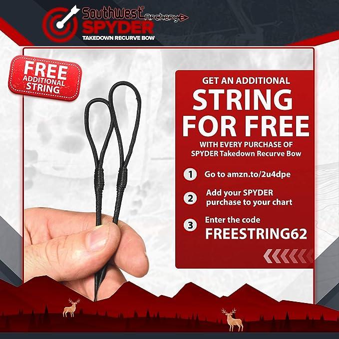 43-70/'/' Handmade Custom Bow Strings For Recurve Bow Longbow Archery 12 Strands