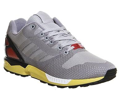 adidas Originals ZX Flux Weave AF6346, Unisex-Erwachsene Laufschuhe  Training, Grau (Clear 2386d06e26