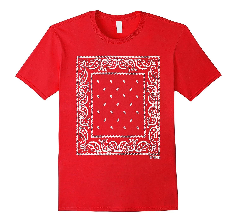 e665c19d Red bandana shirt – bandana t shirt men and women-RT – Rateeshirt