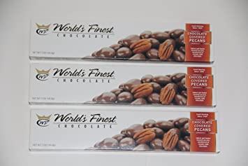 Amazoncom Worlds Finest Chocolate Chocolate Covered Pecans