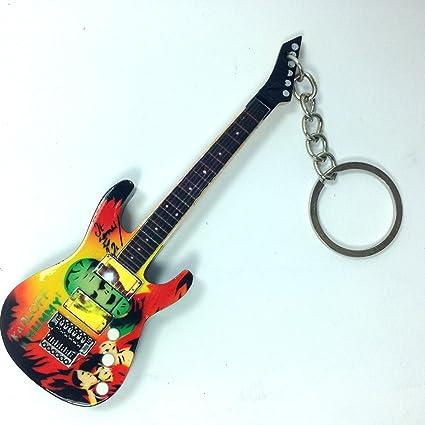 Llavero de madera forma Guitarra – Metallica – Kirk Hammett – The ...