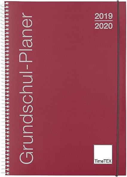 TimeTEX 10416 - Agenda escolar con anillas, A4, año 2019-2020 ...